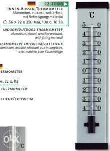 Termometar TFA, kat. broj 12.2006