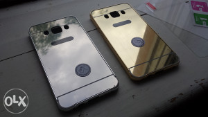 Gold i Silver METALNA maska za Samsung Galaxy J7 (2016)