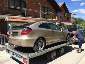 Mercedes c klasa coupe 220cdi dijelovi u dijelovima