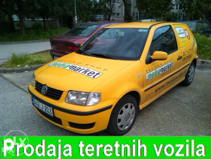 VW POLO 1.9SDI TERETNO VOZILO Caddy