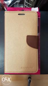 Zlatna preklopna futrola Coolpad Torino R108