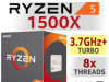 AMD Ryzen 5 1500X 8x3.5-3.7GHz AM4
