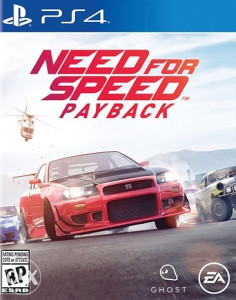 NEED FOR SPEED PAYBACK PS4. DIGITALNA IGRA