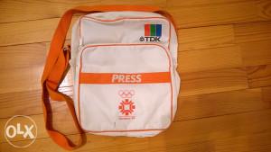 Sportska olimpijska torba PRESS TDK - Sarajevo 84
