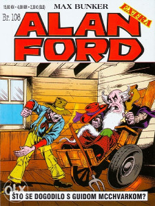 Alan Ford Extra 106 / STRIP AGENT