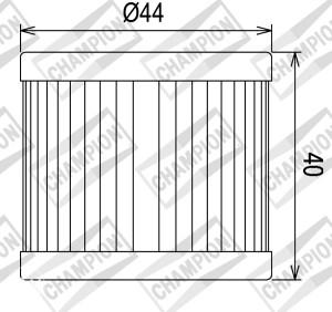 Filter ulja Suzuki 90/125/150/200/400 ccm