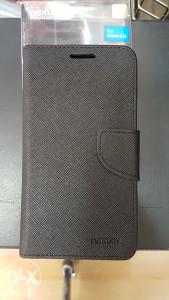 Crna preklopna futrola HTC Desire 616