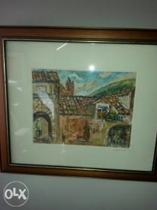 Umjetnička slika Dubrovnik - Vasiljević