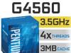 CPU LGA1151 Intel Pentium G4560 4x3.5GHz Kaby Lake