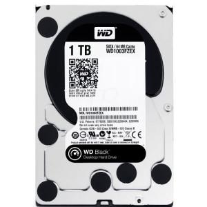 HDD SATA3 7200 1TB WD Black WD1003FZEX, 64MB