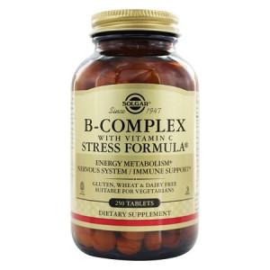 B Complex Kompleks / Stres / 250 Tableta / SOLGAR
