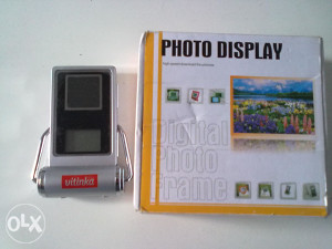 VITINKA - Retro DIGITAL PHOTO FRAME sa logom - N O V O