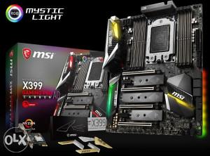 MSI X399 GAMING PRO CARBON AC , AMD TR4