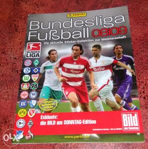 Album PANINI Bundesliga Fubball 08/09