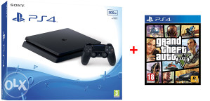 Sony PlayStation 4 Slim 1TB + GTA 5 PS4