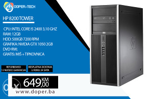 Računar HP 8200; i5 2400 3,10GHz; 12GB RAM