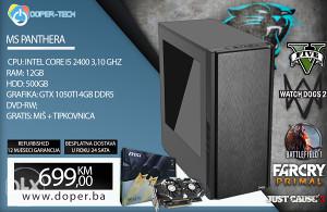 Računar MS PANTHERA i5 3,10 GHz; 12 GB RAM; GTX 1050 TI