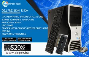 Računar Dell T3500; Xeon W3690 3,46GHz; 12GB RAM