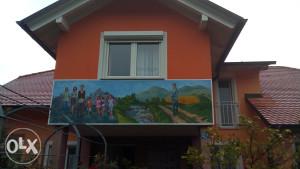 Slika na zidu mural