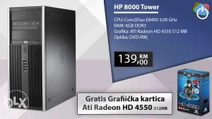 RAČUNAR 6GB RAM + GRATIS GRAFIKA 512MB