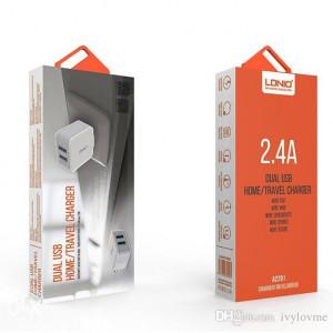 DUAL USB PUNJAC ZA TELEFON 2.4A BRZO PUNJENJE