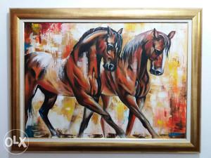 Umjetnička slika 45 x 65 cm