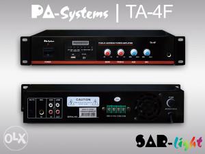 100V pojačala PA-Systems | Bluetooth, FM Tuner, USB/SD