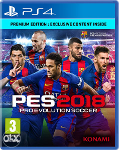 PES 2018 D1 Edition SD PS4 (5403)