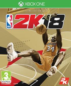 NBA 2K18 18 2018 GOLD za XBOX ONE *ORGINAL**NOVO* s 360
