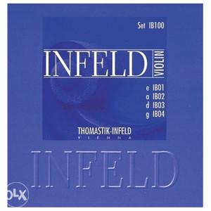 ŽICE ZA VIOLINU SET THOMASTIK INFELD BLUE IB100 633879