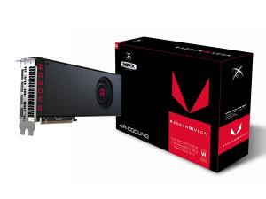 AMD XFX VEGA 64 Air Black 8GB HBM2 PCIE Novo!!!