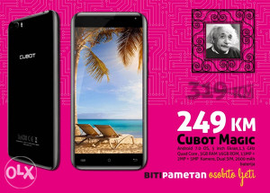 Cubot Magic | 5 inch | 3gb + 16gb | Dual cam 13+2 Mpx