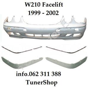 Mercedes W210 BRANIK LAJSNE Facelift 1999 - 2002