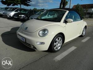 Volkswagen Beetle 1,6 Sr Cabrio