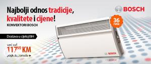 Bosch KONVEKTOR na kredit, garancija 24 mjeseca !!!