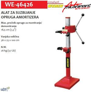 Alat za suzbijanje opruga amortizera we-46426