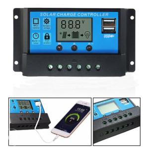 Solarni regulator - kontroler punjenja 10A 12v/24v