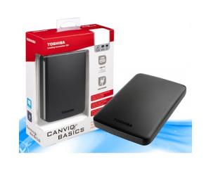 EXT HDD 500GB Toshiba Canvio Basics