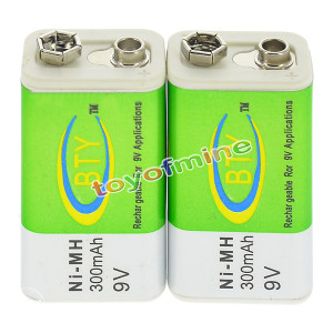 Punjive baterije 9 V