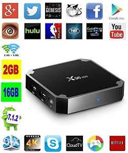 Android TV Box 2gb / 16GB sa nosačem, TV kanali, Kodi