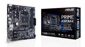 Asus Prime A320M-K AM4 socket