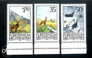 Liechtenstein - 1986 - /nežigosano/ - Fauna