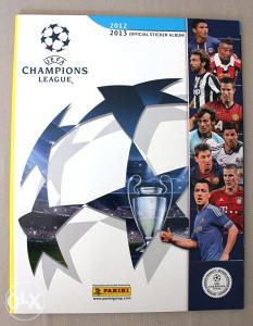 Panini Champions League 2012/2013 - prazan album GLANC