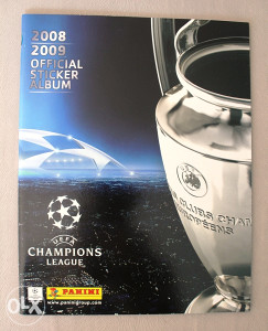 Panini Champions League 2008/2009 - prazan album