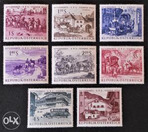 Austrija - 1964 - /nežigosano/ - Kongres pošte