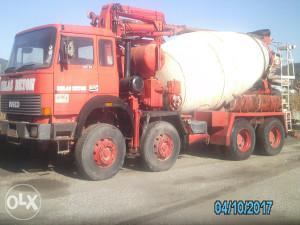 kamion IVEKO MAGIRUS mikesr pumpa