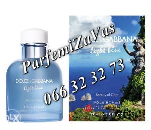 Dolce & Gabbana Light Blue Beauty Of Capri 125ml Tester