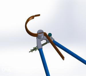 Kljuc za savijanje kuka nosaca oluka biger