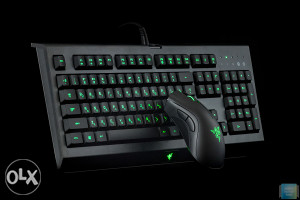 RAZER Gaming Cynosa Pro + Deathadder miš