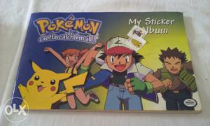 Nitendo pokemon album sa naljepnicama Canada 1999 god